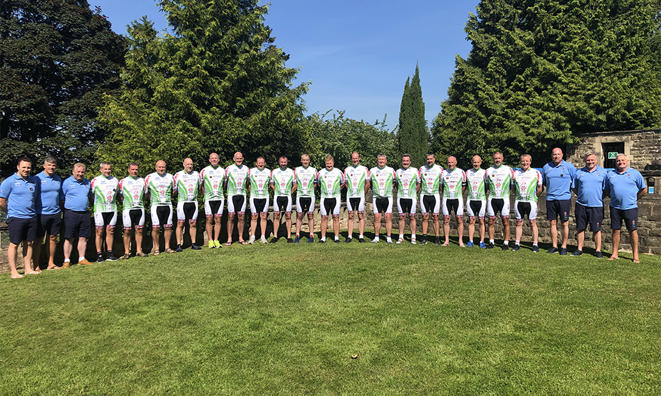GM FUNDRAISING COMPLETES FINAL CYCLING CHALLENGE