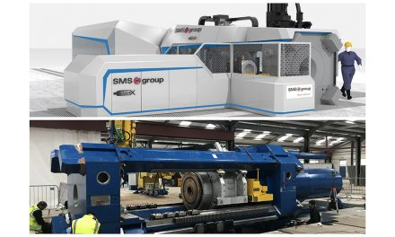 GARNALEX INVESTS IN 170 TONNE STATE-OF-THE-ART ALUMINIUM EXTRUSION PRESS