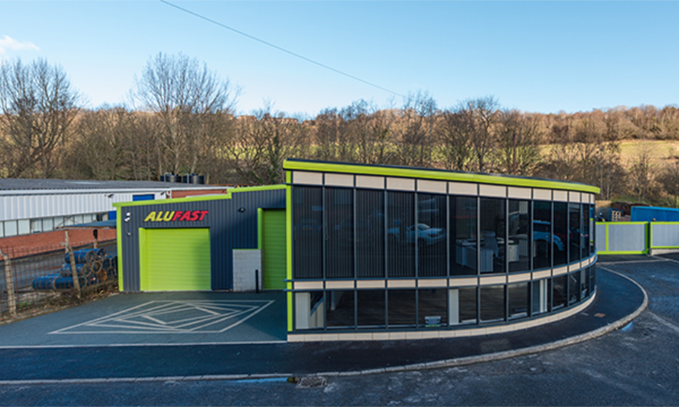 ALUFAST EXPAND WITH EXLABESA BUILDING SYSTEMS