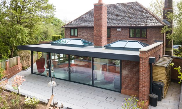 CONSERVATORY OUTLET UNVEIL NEW FLAT ROOF EXTENSION