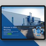 VEKA RECYCLING'S TIMELY NEW WEBSITE AS PLANT BUILD CONTINUES