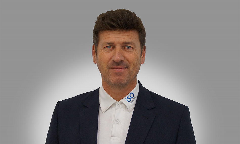 SWIFTLY FORWARD FOR ISO CHEMIE WITH NEW HEAD OF OPERATIONS