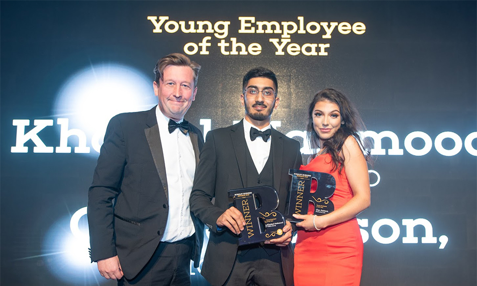 VEKA UK GROUP'S KHALEEL IS YOUNG EMPLOYEE OF THE YEAR