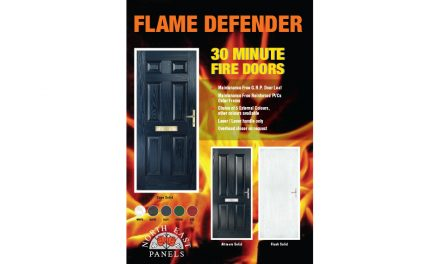 ON THE SAFE SIDE, WHEN IT COMES TO FIRE DOORS