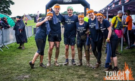 HURST DOORS RAISES OVER £700 FOR DOVE HOUSE HOSPICE IN EPIC TOUGH MUDDER CHALLENGE