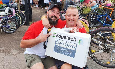 EDGETECH REGIONAL MANAGER RIDES THE RETRO RUN