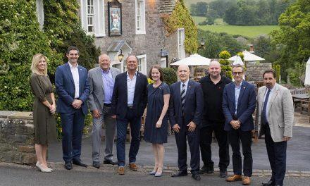 FOUNDING LANCASHIRE AMBASSADORS  – VEKA UK'S DAVE JONES HELPS SET A COURSE FOR SUCCESS