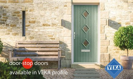 DOOR-STOP SHOWS COMMITMENT TO QUALITY AND PRODUCT DEVELOPMENT WITH NEW VEKA PARTNERSHIP