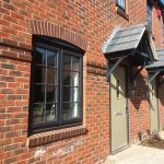 PROFILE 22 OPTIMA WINDOWS SPECIFIED IN TELFORD NEW BUILD DEVELOPMENT