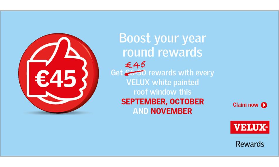 VELUX® OFFERS 90 DAYS OF REWARDS