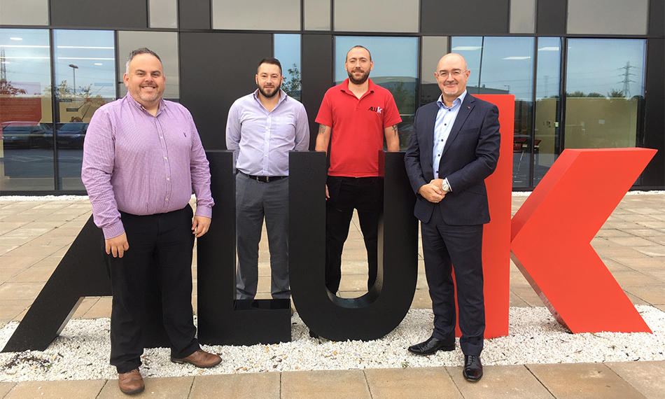 ALUK THE LATEST BIG INDUSTRY NAME TO PARTNER WITH BUILDING OUR SKILLS CAMPAIGN