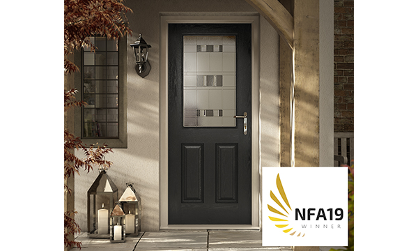 DISTINCTION DOORS CROWNED NFA COMPOSITE DOOR MANUFACTURER OF THE YEAR