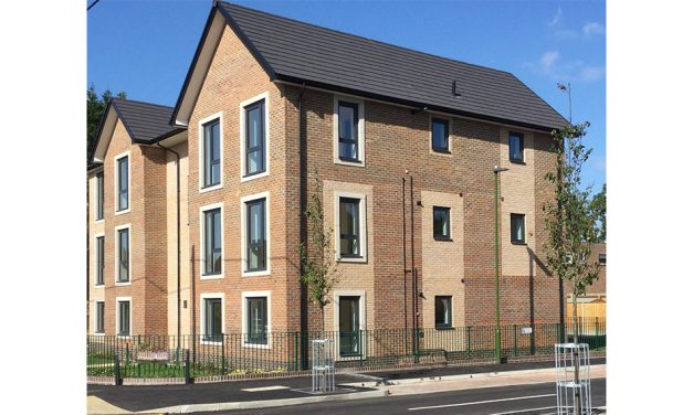 200 SPECTUS FLUSH TILT & TURN WINDOWS FITTED IN HIGH PROFILE SOCIAL HOUSING DEVELOPMENT