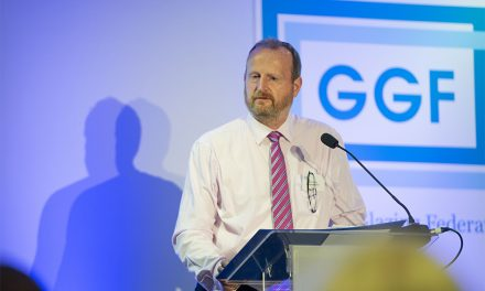 GGF PRESIDENT DELIVERS SPIRITED SPEECH TO MEMBERS