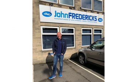 OLD FRIENDS RETURN TO JOHN FREDERICKS PLASTICS WITH HALO