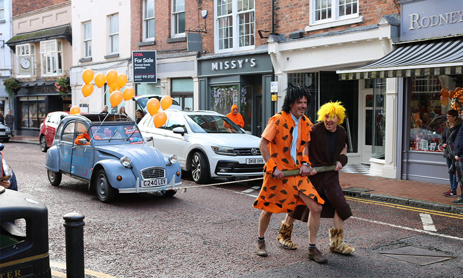 THE FLINTSTONES HAVE 'A YABBA DABBA DO-TIME' IN NANTWICH