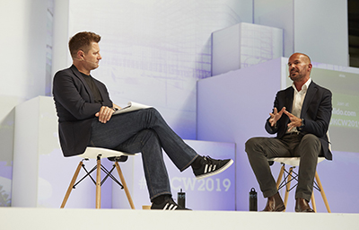 UKCW Discussion between Mark Farmer and George Clarke on UKCW Main Stage