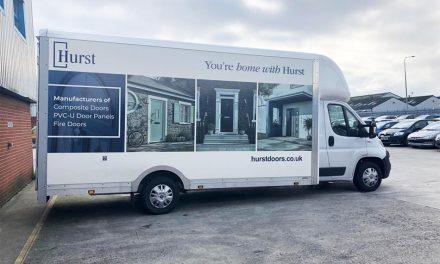 HURST DOORS INVESTS £250K INTO TRANSPORT FLEET TO MEET GROWING CUSTOMER DEMAND