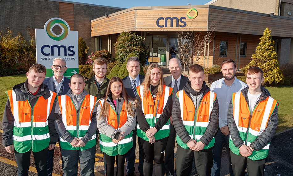 CMS GIVES WINTER SCHOOL LEAVERS SPACE TO START DEVELOPING THEIR CAREERS