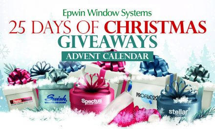 CHRISTMAS ADVENT GIVEAWAYS FROM EPWIN WINDOW SYSTEMS