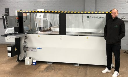 BEDFORDSHIRE WINDOWS INVESTS IN FOM INDUSTRIE ADIR C CNC MACHINING CENTRE FROM HAFFNER MURAT