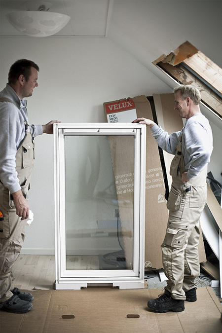 Installers with VELUX Roof Window in Loft Conversion