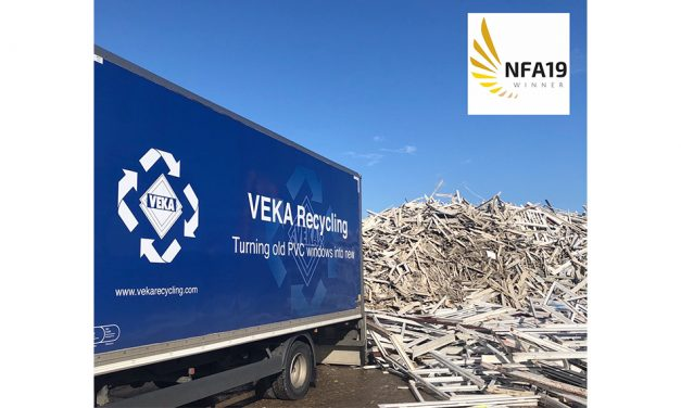 VEKA CROWNED NFA RECYCLING CHAMPION
