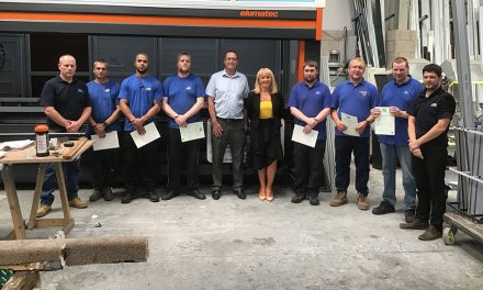 ABSOLUTE TRAINING SOLUTIONS BRINGS SKILLS BOOST TO LANCASHIRE DOUBLE GLAZING GROUP LTD