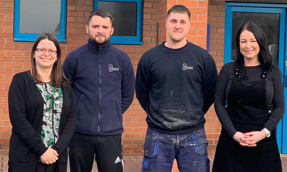 FOUR MEMBERS OF HURST TEAM CELEBRATE 80 YEARS OF JOINT SERVICE