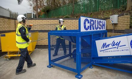 MORLEY GLASS & GLAZING AND SAINT-GOBAIN GLASS TAKE RECYCLING TO THE NEXT LEVEL