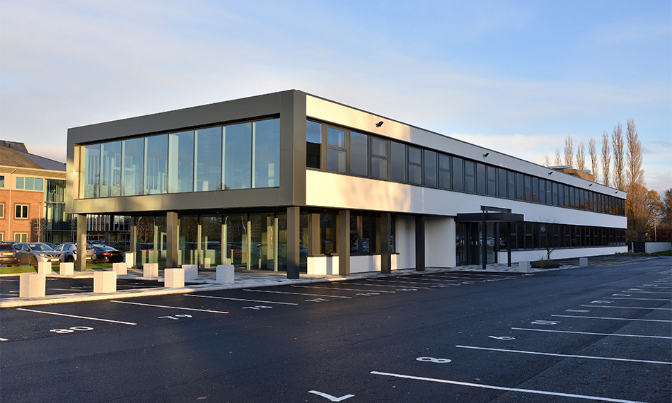 'THE LANDING' GEARS UP FOR NEW TENANTS WITH TECHNAL MX52