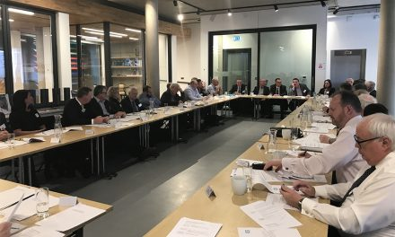 GGF MEMBERS AIR VIEWS AT CHAIRPERSONS' FORUM
