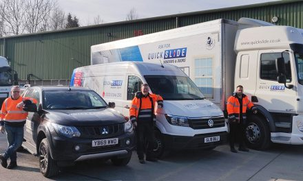 QUICKSLIDE UPGRADES TRANSPORT FLEET AS PART OF £2,000,000 INVESTMENT