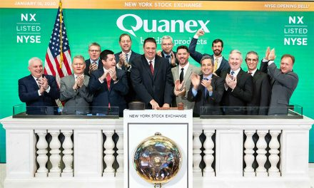 LINIAR AND QUANEX TAKE CENTRE STAGE AT THE NYSE