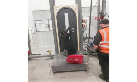 PAS 24 ON ARCHED DOORS FROM FORCE 8