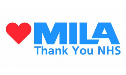 MILA JOINS THE LIGHT IT BLUE CAMPAIGN