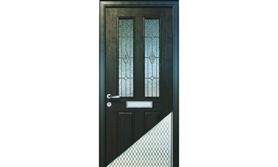APEER INCREASES CUT-THROUGH SECURITY WITH STEEL REINFORCEMENT AND ALUMINIUM MESH CORE ON ALL DOORS