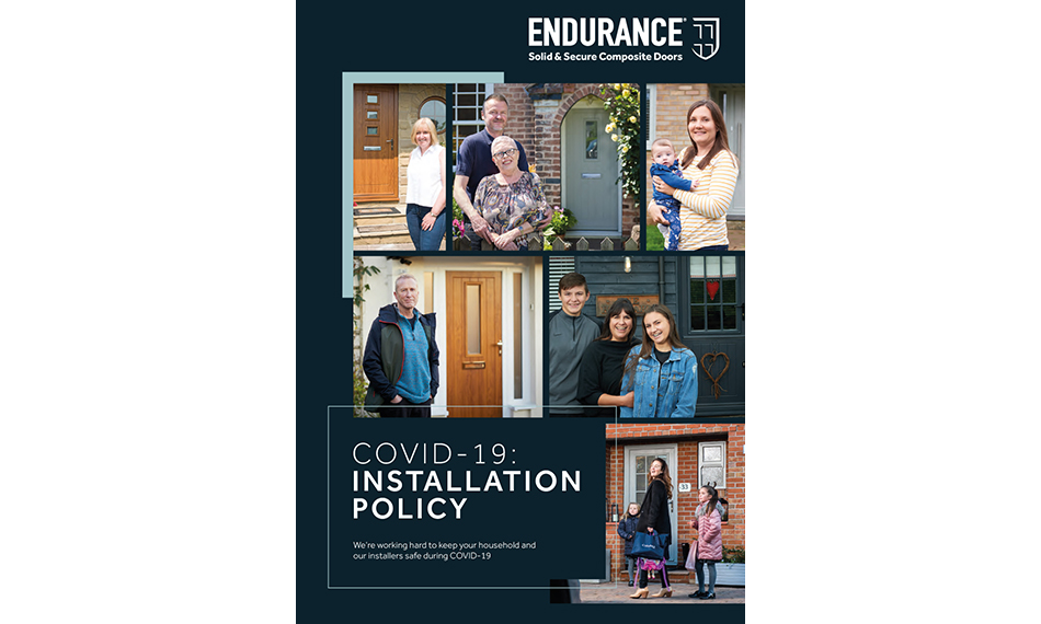 ENDURANCE HELPS INSTALLERS BACK TO WORK WITH COVID-19 GUIDE