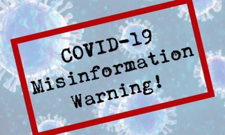 GGF WARNS OF COVID-19 MISINFORMATION