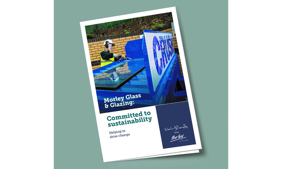 MORLEY GLASS & GLAZING SHOWCASES SUSTAINABILITY CREDENTIALS IN NEW BROCHURE