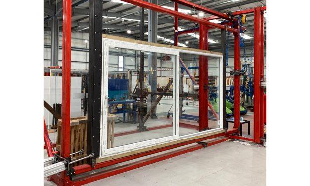 ALUPLAST REDEFINES THE PVC-U PATIO  WITH 4.5M WIDE TWO-PANEL INLINE SLIDING DOOR