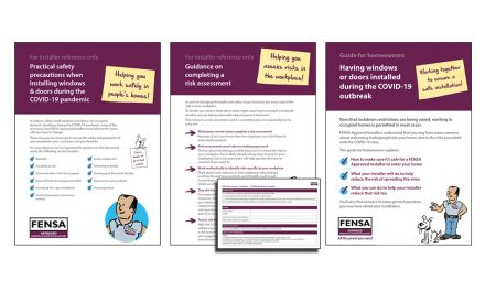 COVID-19 ADVICE AND INFORMATION FROM FENSA AS ITS APPROVED INSTALLERS RETURN TO WORK