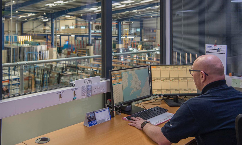 AUTOMATED ROUTE PLANNING OPTIMISES MORLEY GLASS DELIVERIES