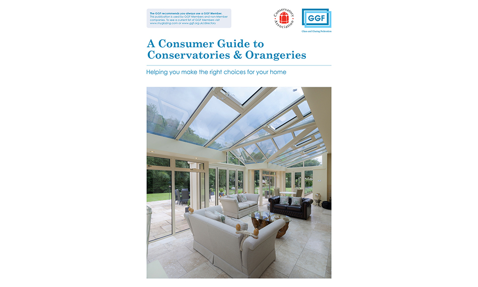 GGF PLEASED AT POSITIVE SIGNS FOR CONSERVATORY SECTOR