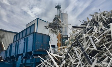 NOISY, VIOLENT AND EXPENSIVE: VEKA RECYCLING COMPLETES KEY PHASE 2 OF PLANT DEVELOPMENT ON SCHEDULE