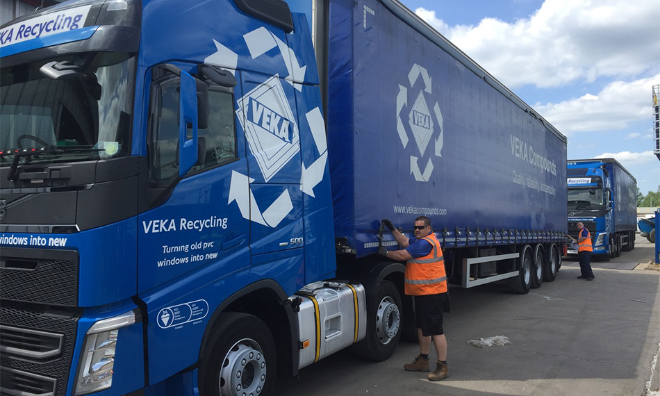 BACK ON THE ROAD AGAIN: VEKA RECYCLING FLEET IN FULL FLOW AS WINDOW INDUSTRY GETS BACK TO WORK