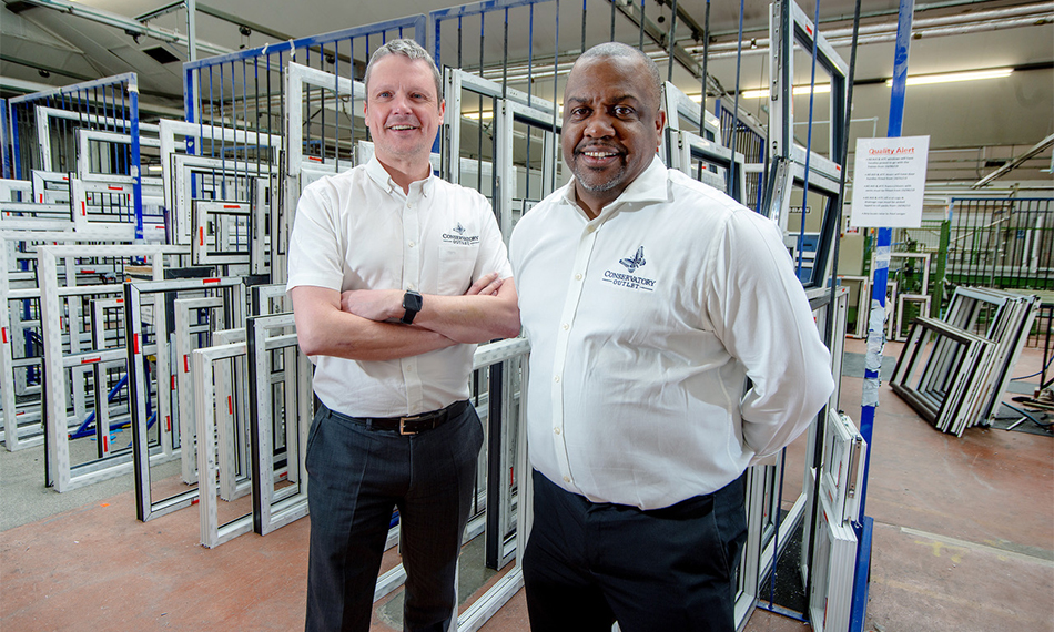 CONSERVATORY OUTLET PRAISED FOR LOCKDOWN RESPONSE