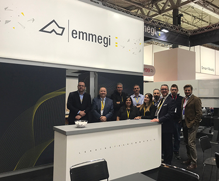 PR230 Some of the Emmegi team pictured at the 2019 FIT Show