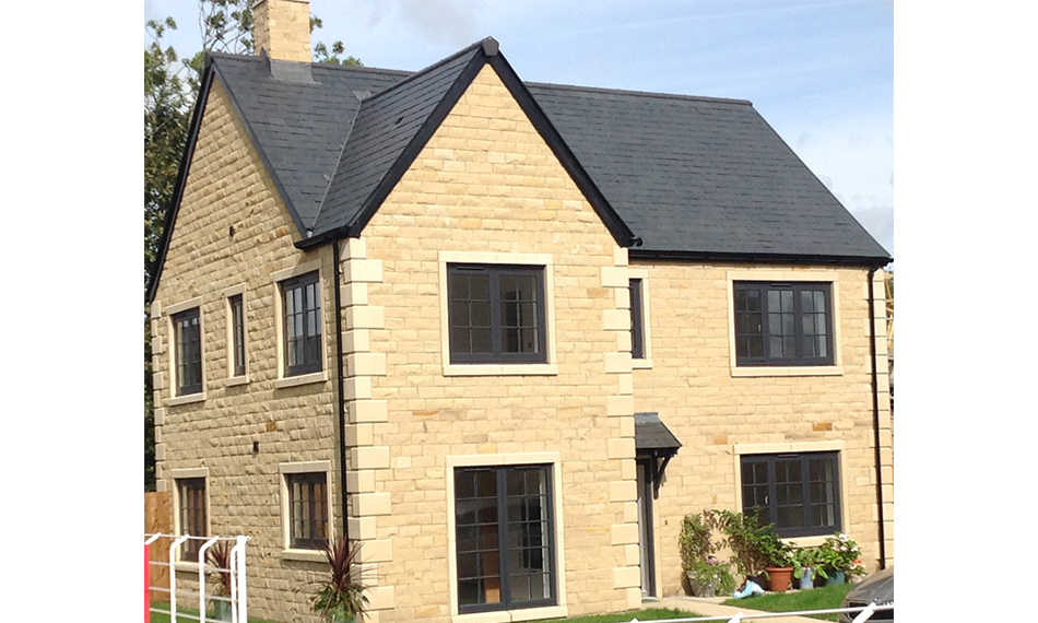 PROFILE 22 OPTIMA WINDOWS FITTED IN HIGH SPECIFICATION HOUSING DEVELOPMENT
