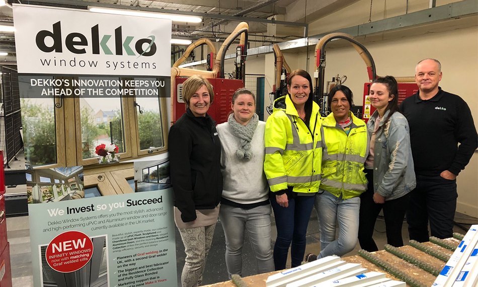 WOMEN IN CONSTRUCTION – DEKKO STRIVE FOR MORE GENDER EQUALITY IN THE WORKPLACE